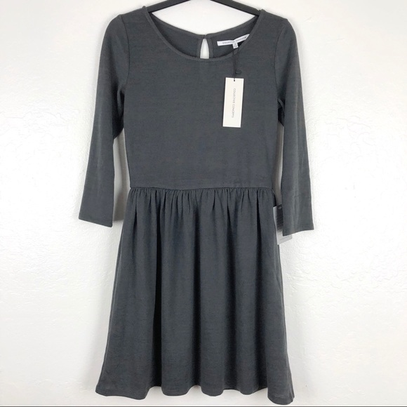 Collective Concepts Dresses & Skirts - Collective Conceptos 3/4 Sleeve Grey dress S M